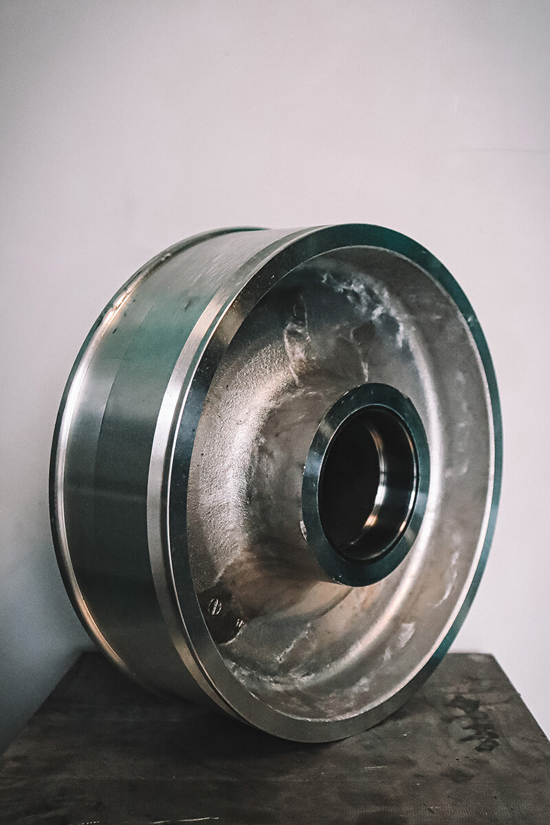 Pièce fonderie Aluminium - Gravitec