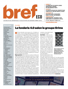 article Bref eco Groupe Grims fonderie 4.0