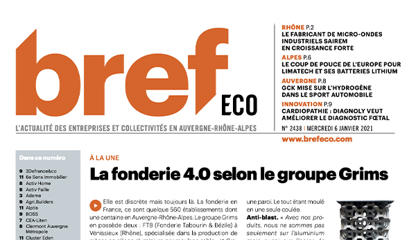 Bref eco fonderie 4.0 selon le groupe Grims