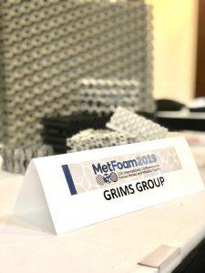 Groupe Grims participe au Congrès MetFOAM
