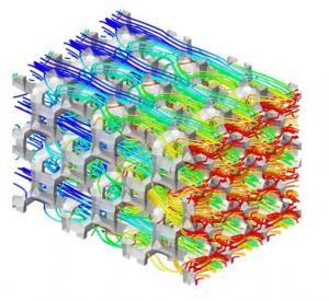 Mousse aluminium - transfert thermique