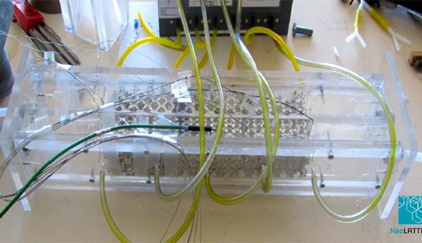 NEOLATTICES pour équiper des échangeurs Thermiques