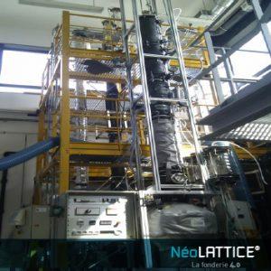 Nouveau Garnissage structuré mousse métallique Grimpack Neolattice